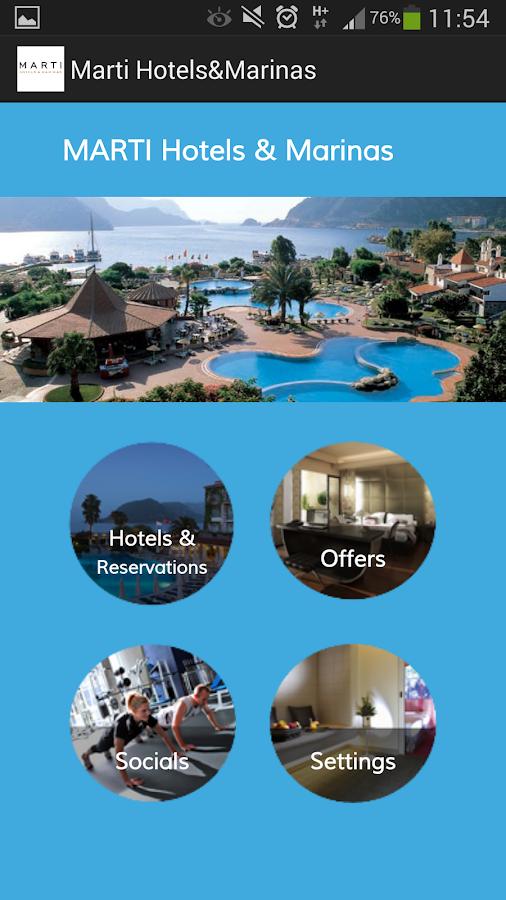 Marti Hotels&Marinas- ekran görüntüsü