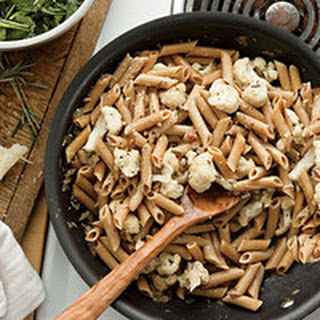 Whole Wheat Penne and Cauliflower.