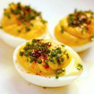 Great Deviled Eggs.