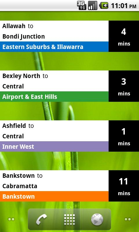 Sydney Rail Beta- screenshot