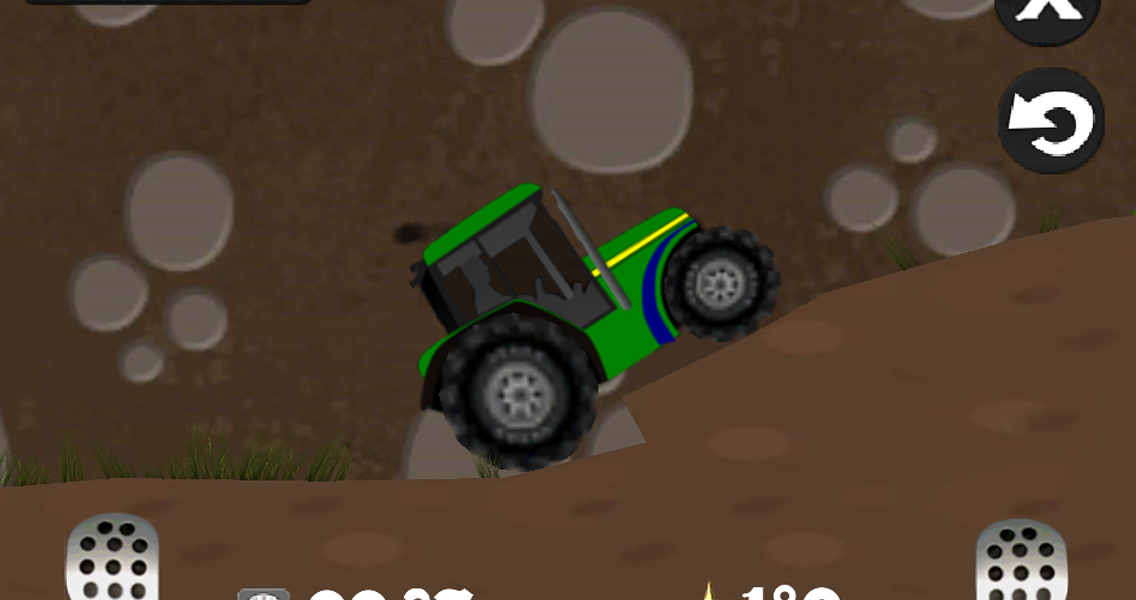 Farm driver - uphill Tractor - screenshot