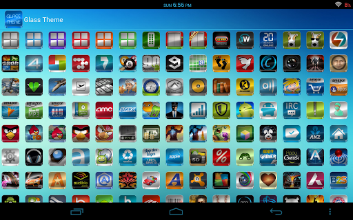 Glass - Icon Pack  screenshots 9