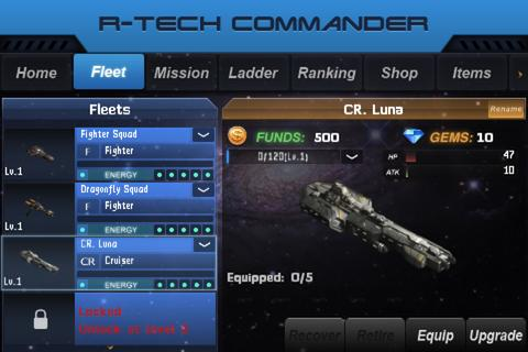 R-Tech Commander: Galaxy - screenshot