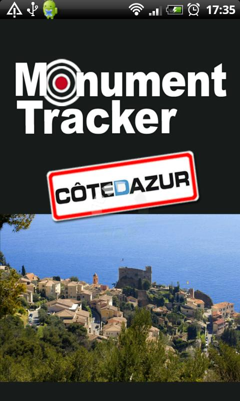 Côte d'Azur Monument Tracker- screenshot