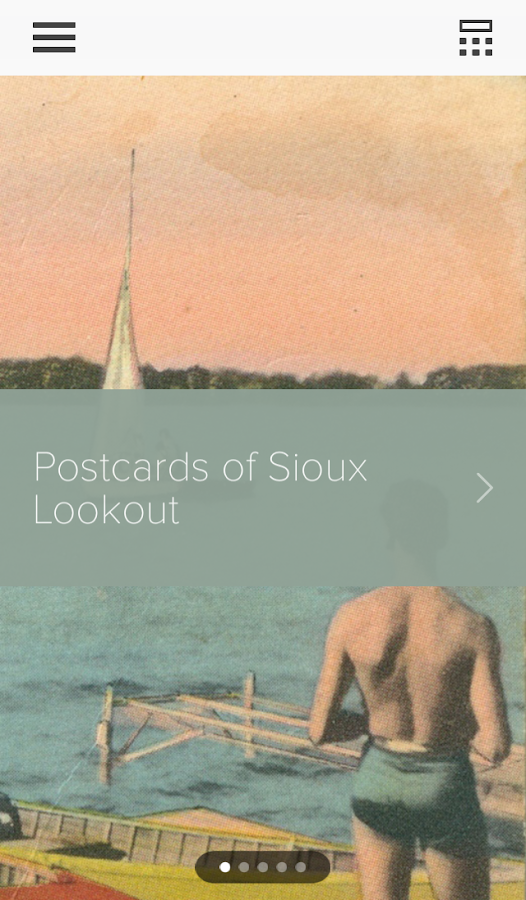 Sioux Lookout Community Museum- screenshot