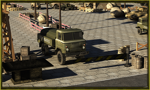 Army War Truck Simulator 3D