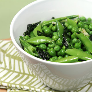 Fresh Peas With Basil And Mint.