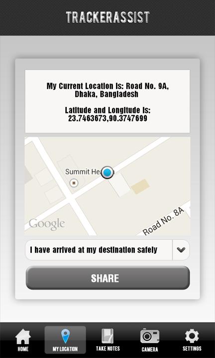 Tracker Assist - screenshot