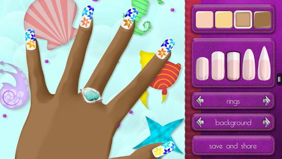 Nail Design Game for Girls- screenshot thumbnail