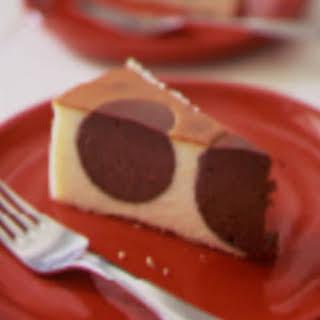 Polka Dot Cheesecake.