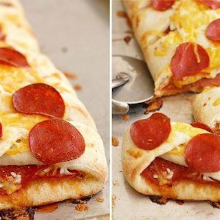 Pepperoni Pizza Braid.