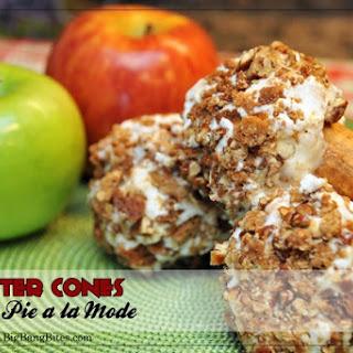 Jupiter Cone Apple Pie a la Mode