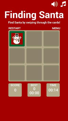 Finding Santa Matching Game