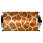 Giraffe skin - Battery Widget