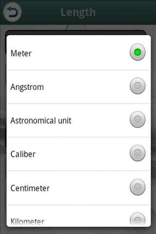 Unit Converter- screenshot