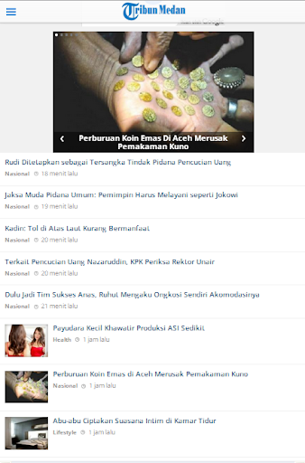 Tribun Medan Launcher