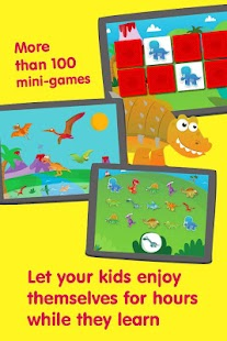 Dino kids - Dinosaurs games - screenshot thumbnail