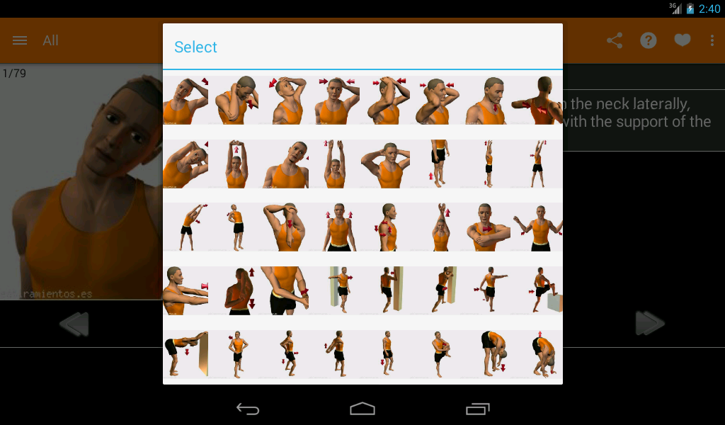 Stretching Routines- screenshot