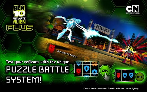 Ben 10 Xenodrome Plus Screenshot