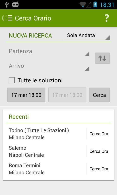 Trains Timetable Italy PRO - screenshot