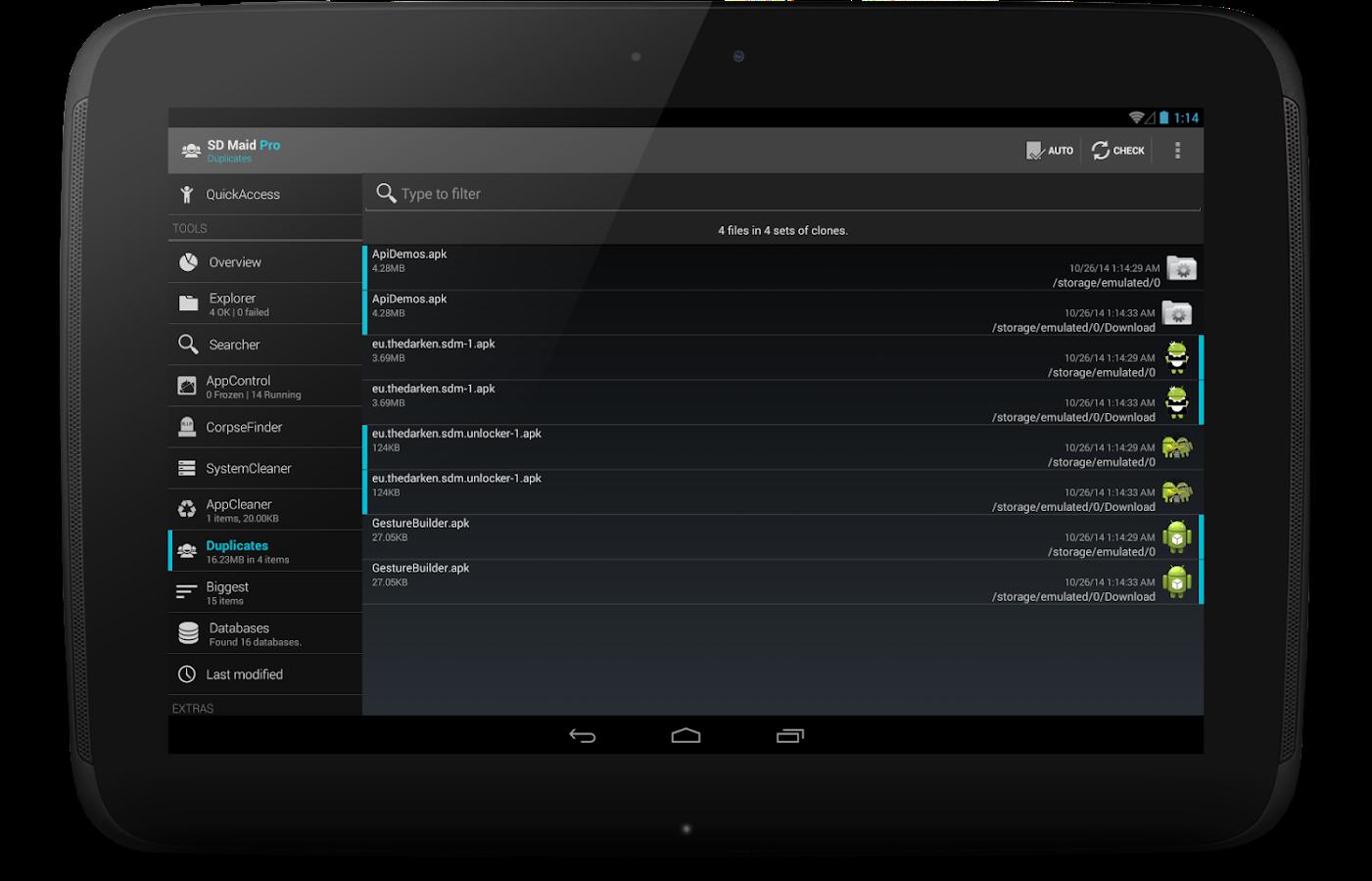 SD Maid Pro - Unlocker- screenshot