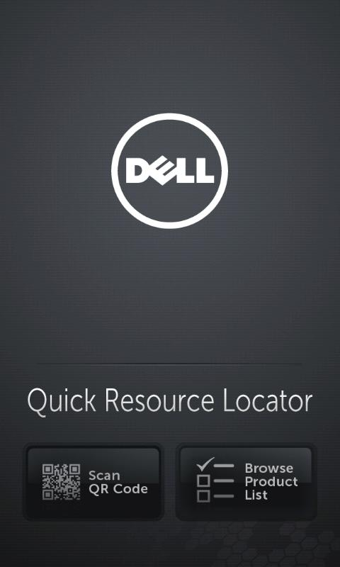 Dell Quick Resource Locator - screenshot