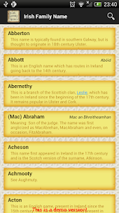 How to get Irish Family Names lastet apk for laptop