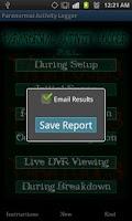 Screenshot of Paranormal Activity Logger