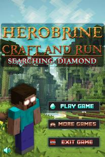 Herobrine: Craft and Run
