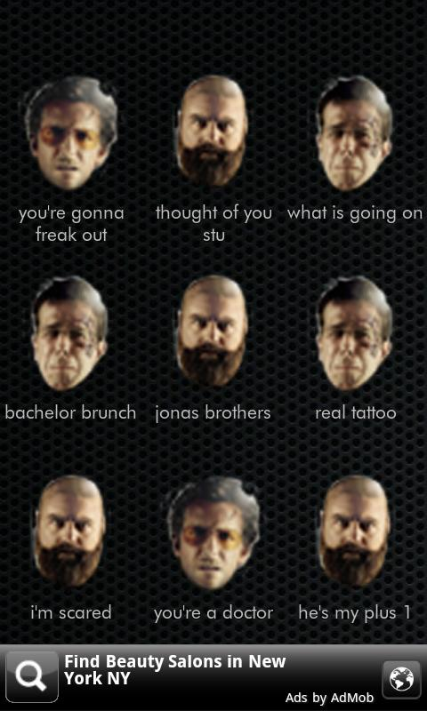 TOP Hangover 2 Soundboard - screenshot