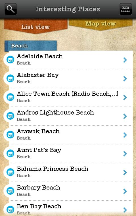 iLandGuide Bahamas- screenshot