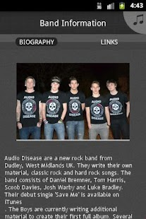 Audio Disease - screenshot thumbnail