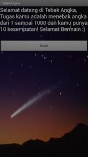 Tebak Angka- screenshot thumbnail