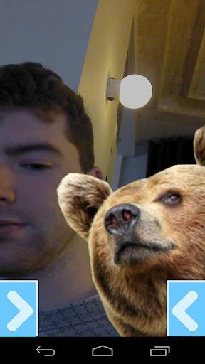 Selfie with a Bear