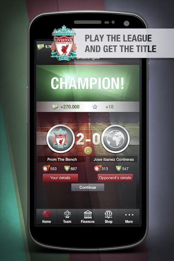 Liverpool FC FantasyManager 14 - screenshot