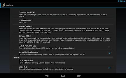DriverDiary - Gas Mileage Screenshot 13