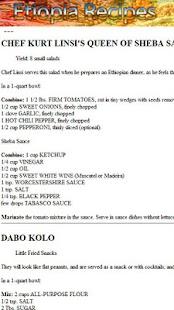 Ethiopia Recipes