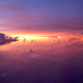 A little sunrise somewhere over the South China Sea by Jay Williams - Landscapes Cloud Formations ( nofilter )