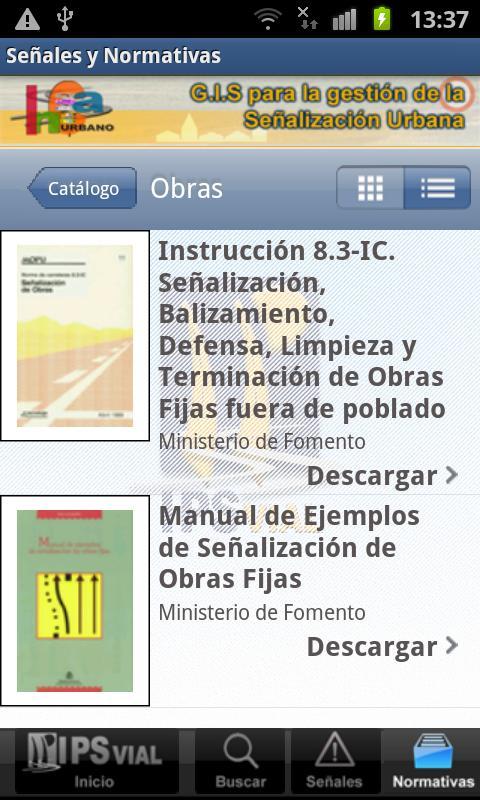 Señales y Normativas- screenshot