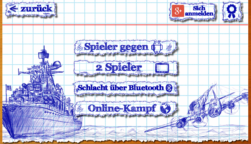 Schiffe versenken (Sea Battle) – Screenshot