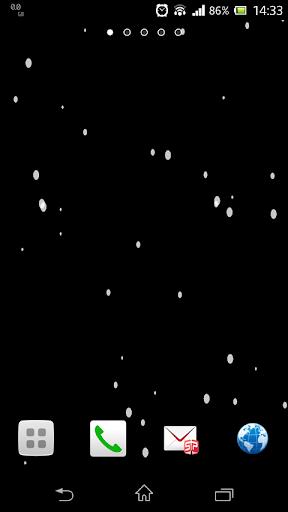 雪降る壁紙