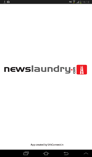 Newslaundry App for Tablets