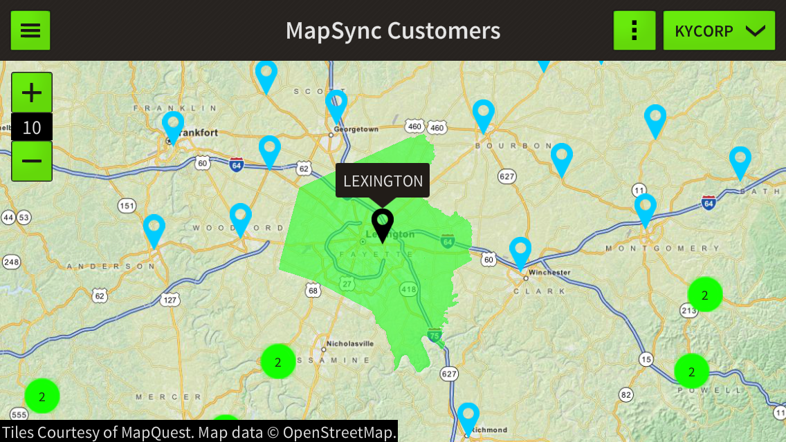 GeoSync GO- screenshot