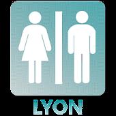 Toilettes à Lyon