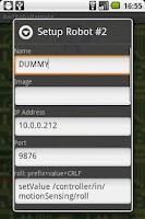 Screenshot of Robo Remote