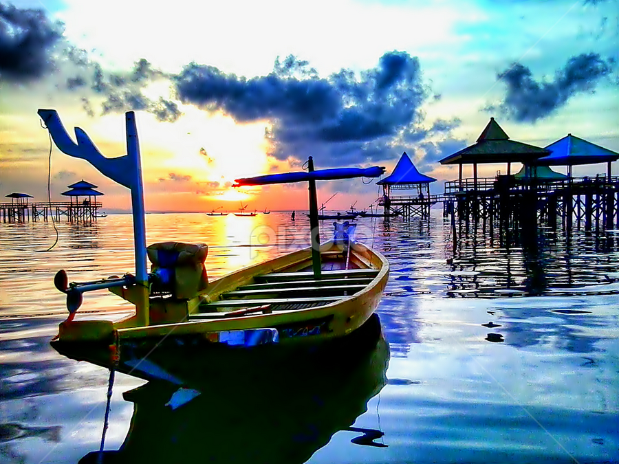 fishing boat by Herry . - Instagram & Mobile Android