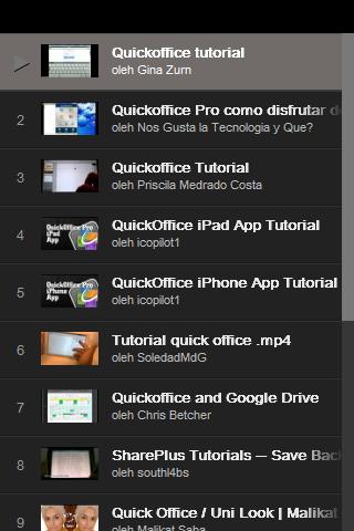 QuickOffice Tutorial