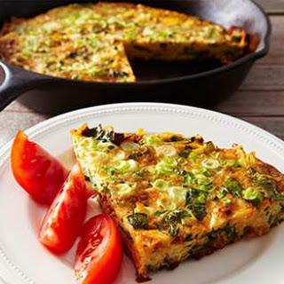 Chard & Chorizo Frittata