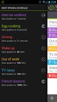 Screenshot of Talking Clock & Timer Demo