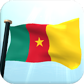 Cameroon Flag 3D Free